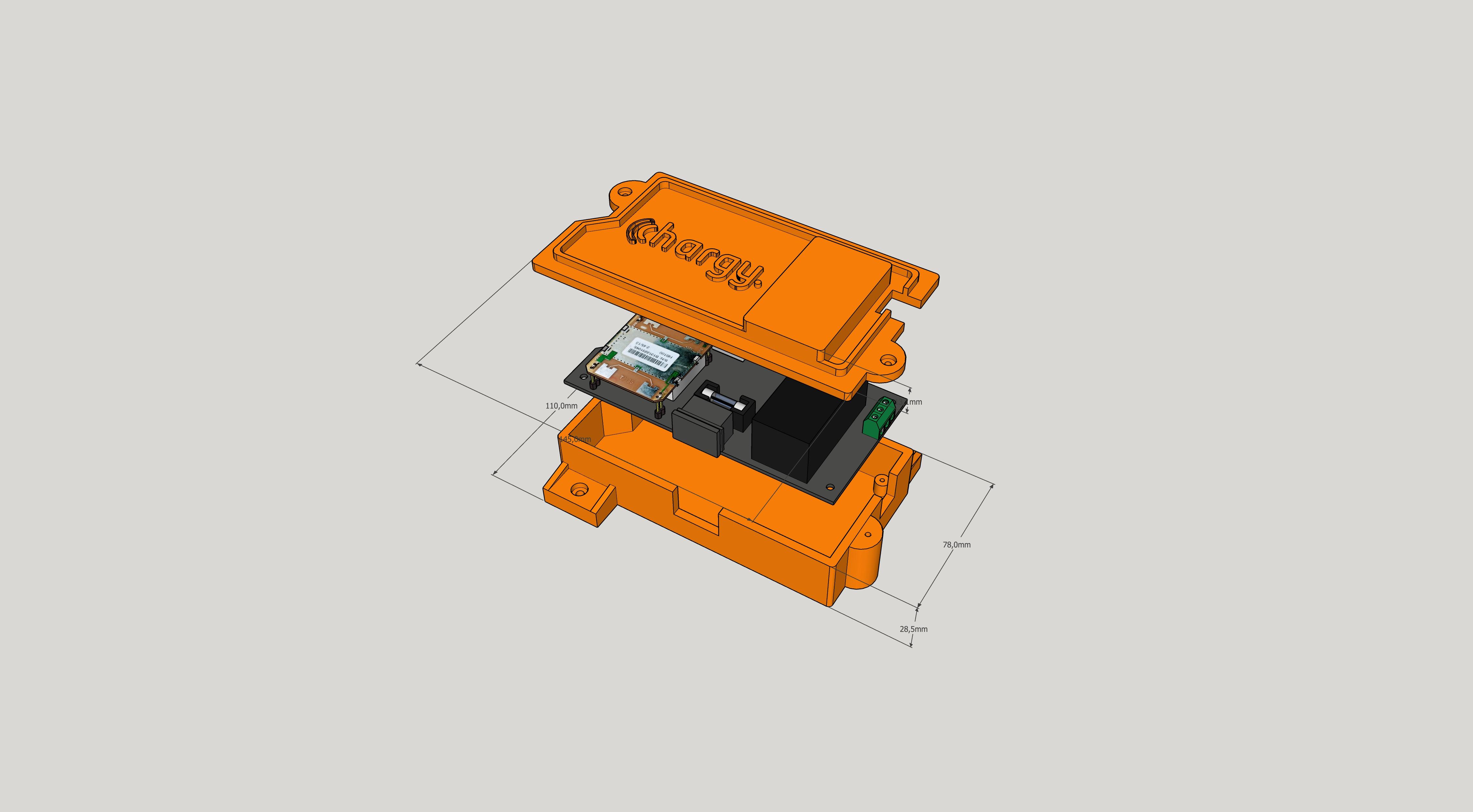 Chargy Sensor